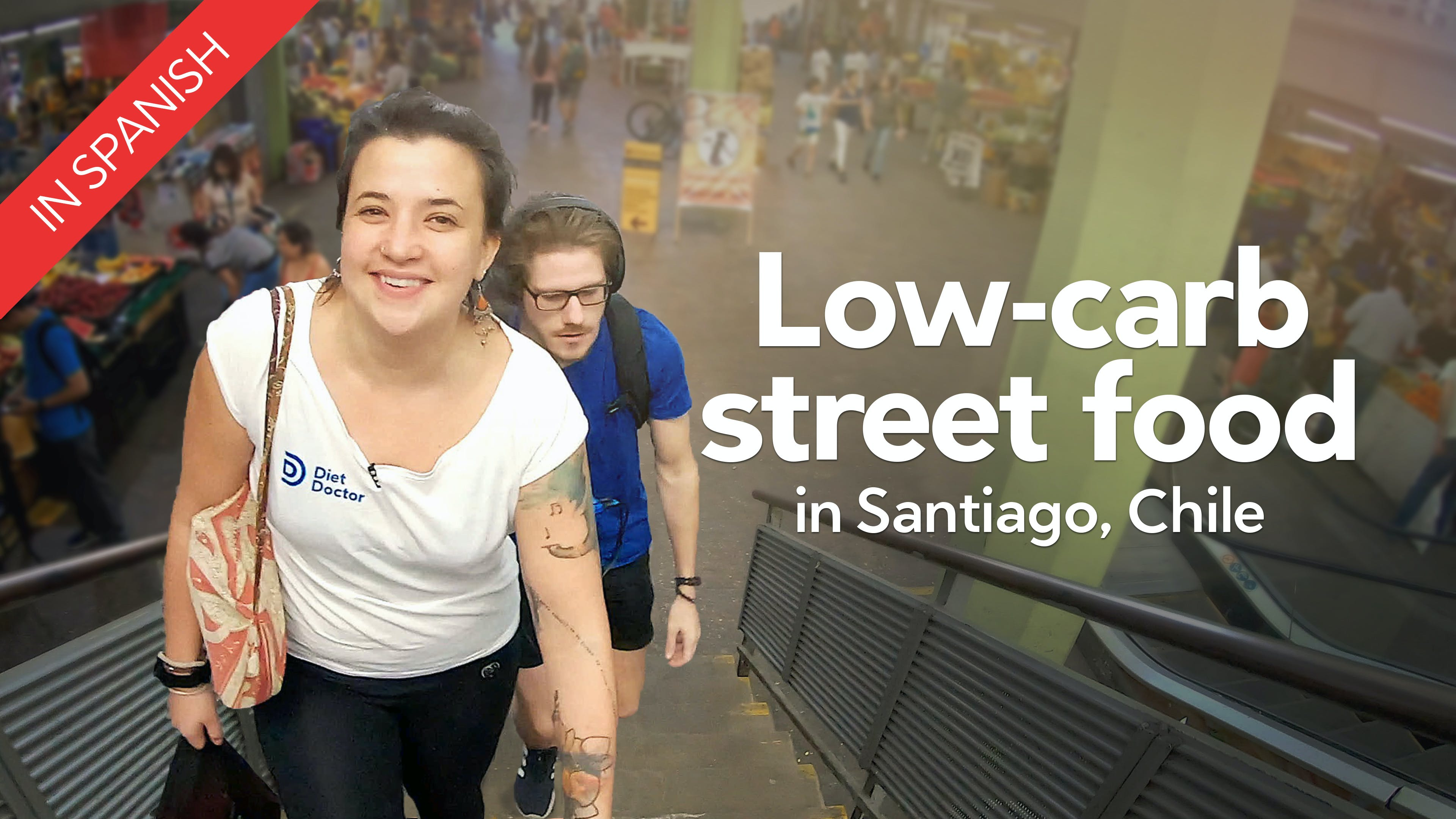 Low-carb street food in Santiago, Chile