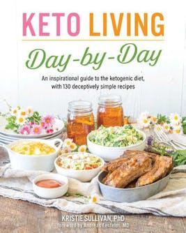 Keto living book cover