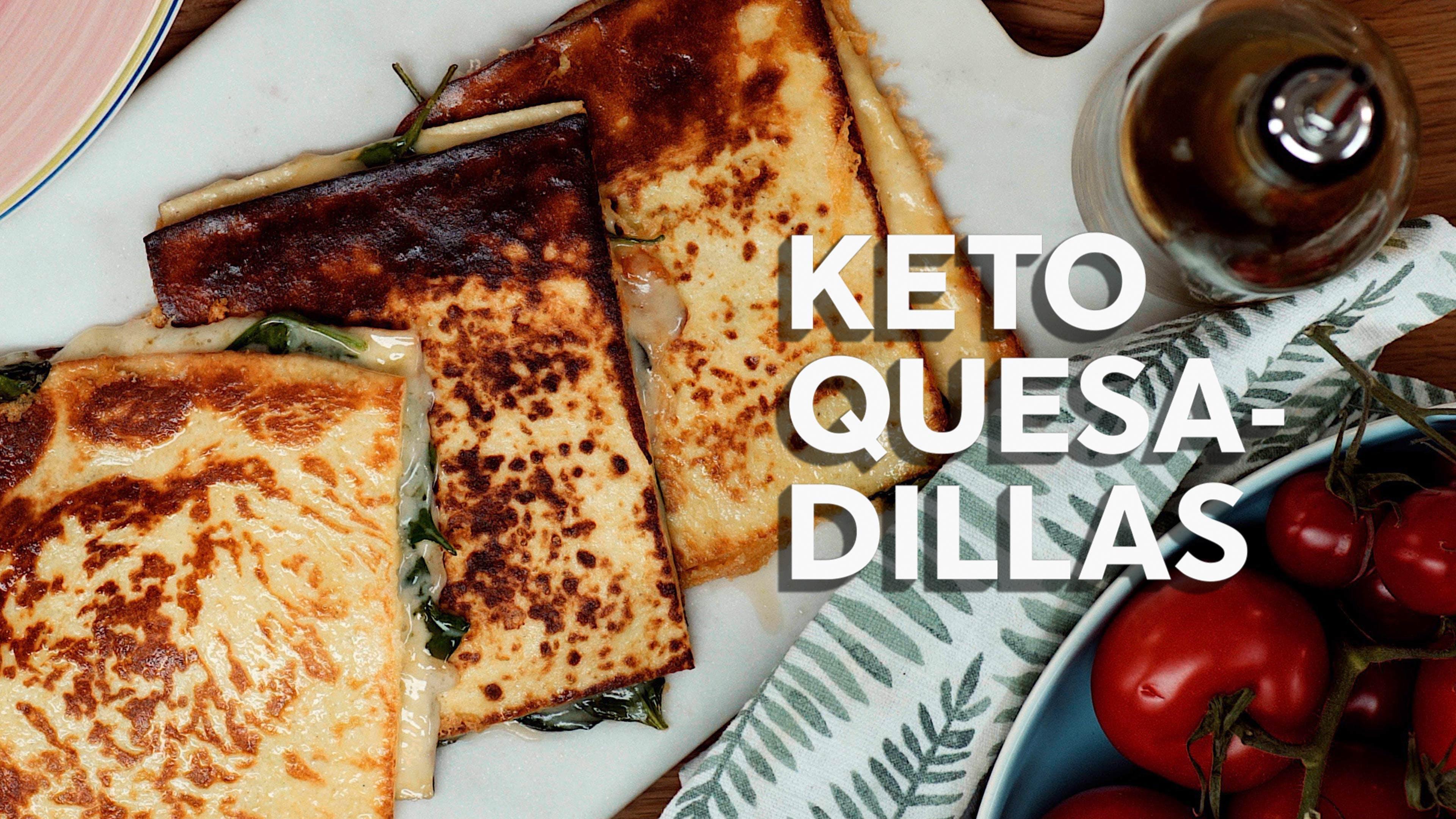 How to make keto quesadillas