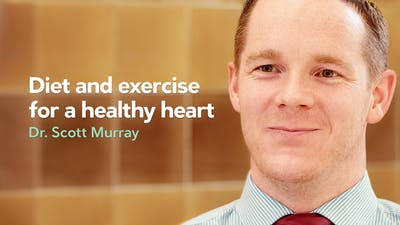 Diet and exercise for a healthy heart