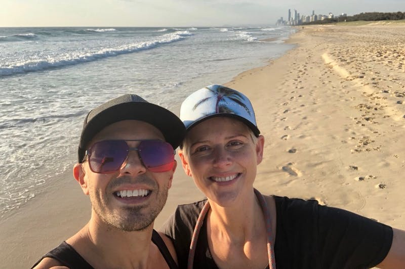 Nathan and wife GC