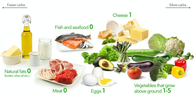 low carb incresed calorie diet