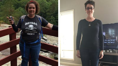How April dramatically improved her active life with keto