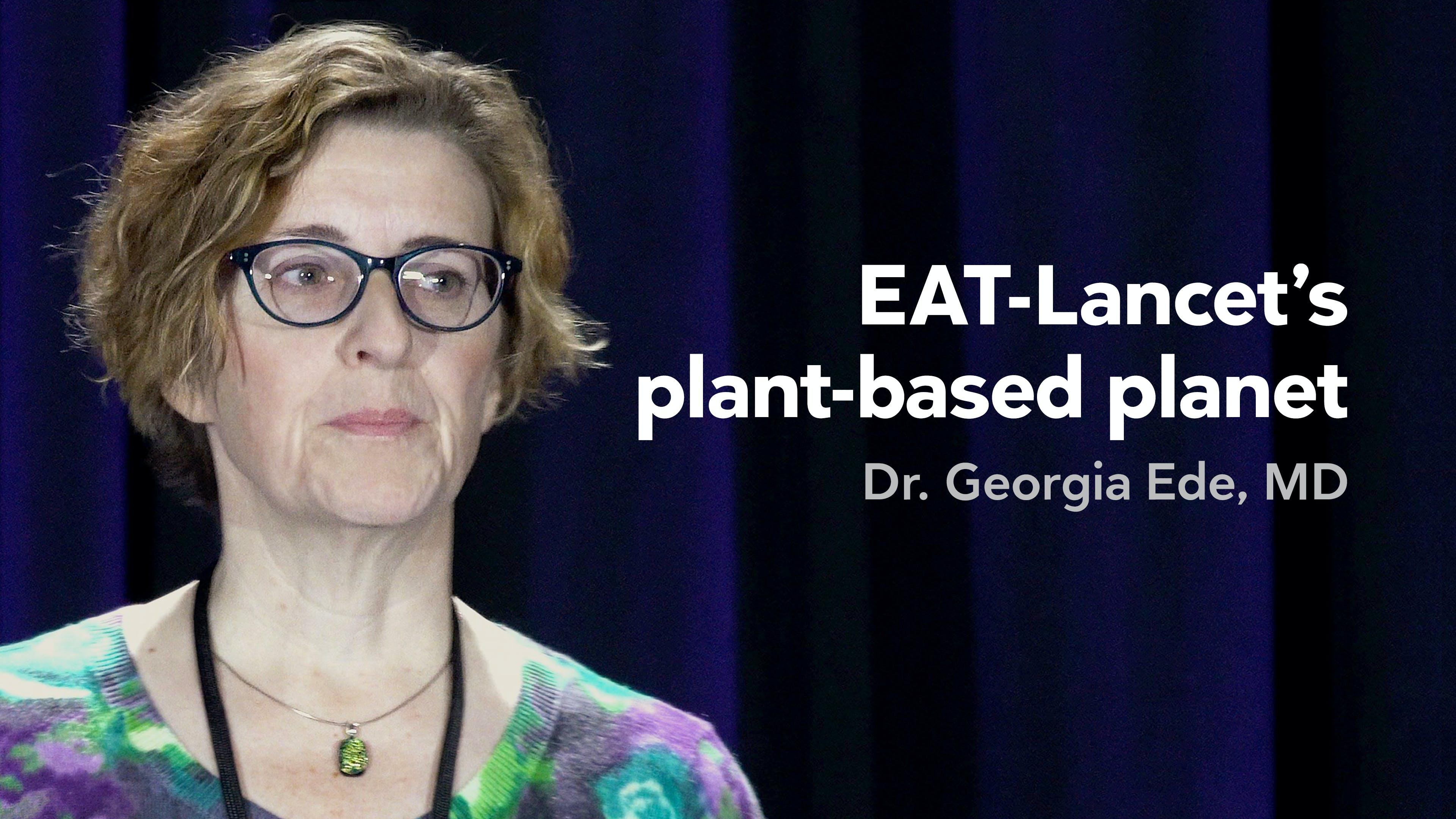 La planète à base de plantes d'EAT-Lancet