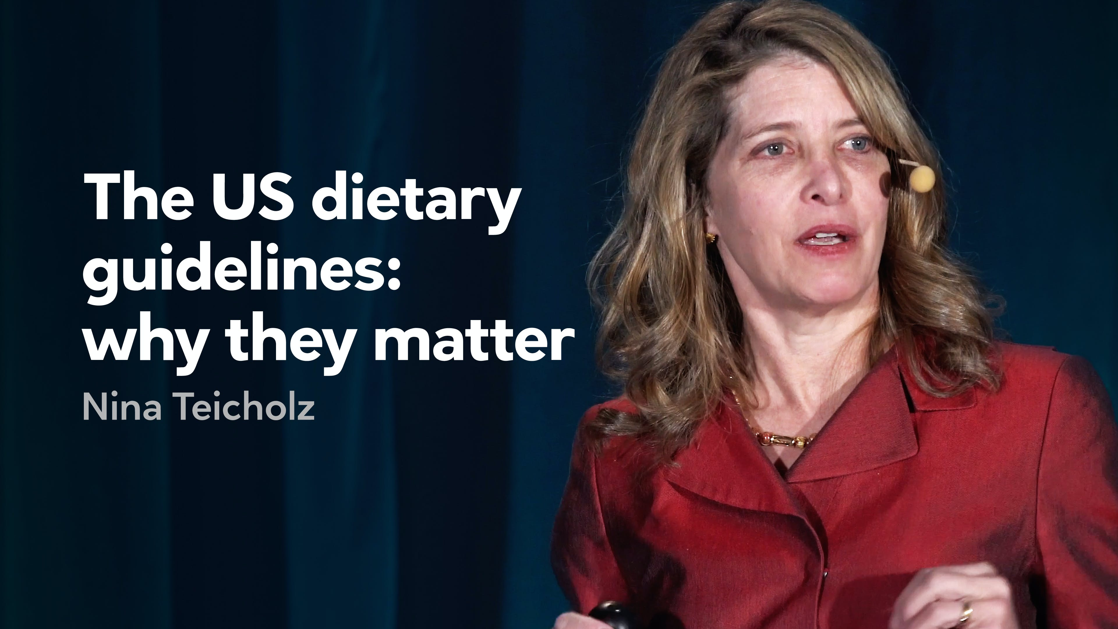 The US dietary guidelines: why they matter