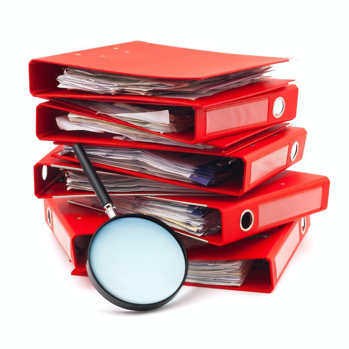 Examining documents