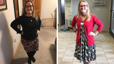 What active Katy gained by going on the keto diet