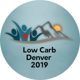 Low Carb Denver 2019 round logo