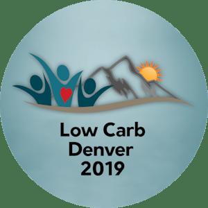 Low Carb Denver 2019 round logo