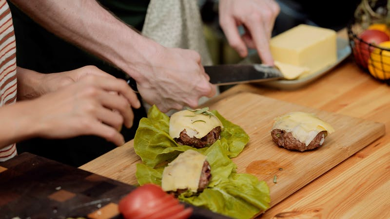Butter burgers — Cooking with KetoConnect