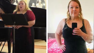 Sandra's incredible weight-loss journey