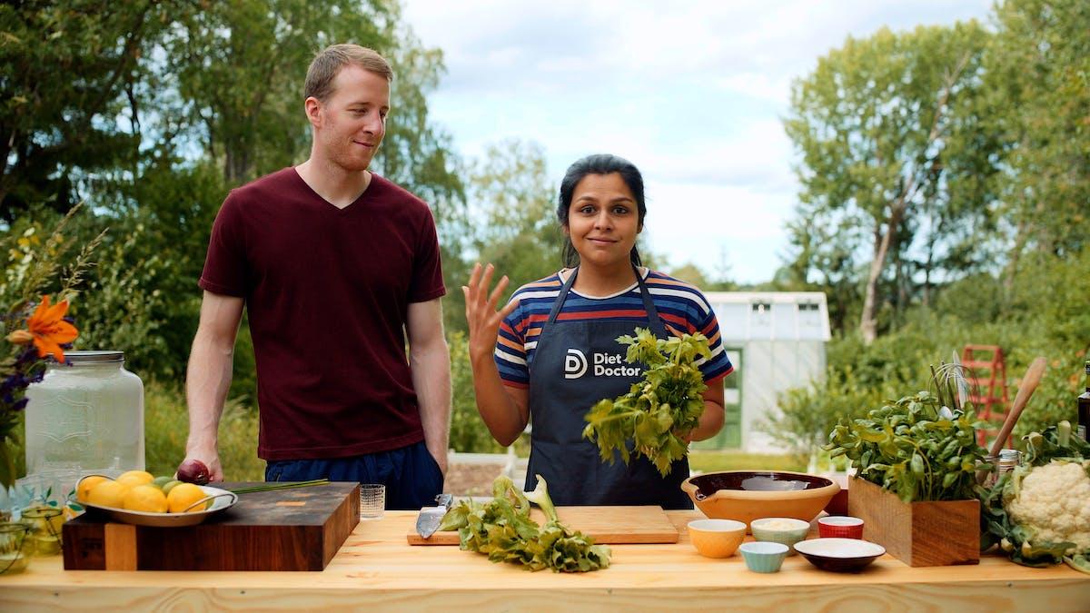 Grillin' with KetoConnect: Episode #2 — Keto cauliflower 'potato' salad