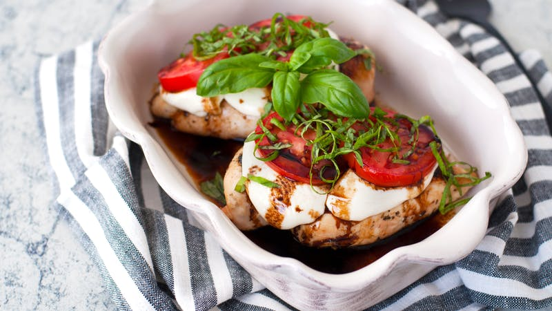 Caprese chicken - Kyndra Holley