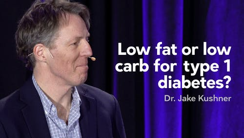 Low carb or low fat for type 1 diabetes?