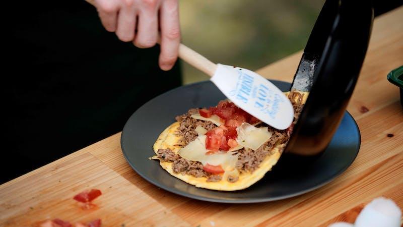 7. Taco omelet