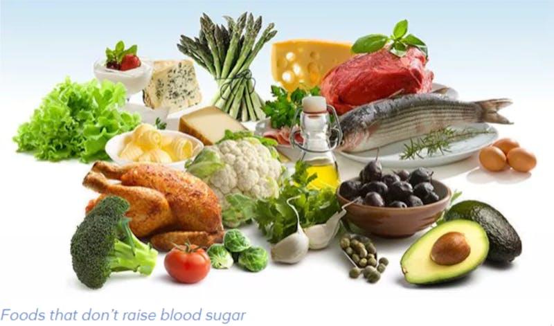 食物 - 那个 - 不要养血糖