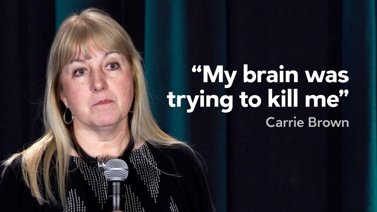 """My brain was trying to kill me"""