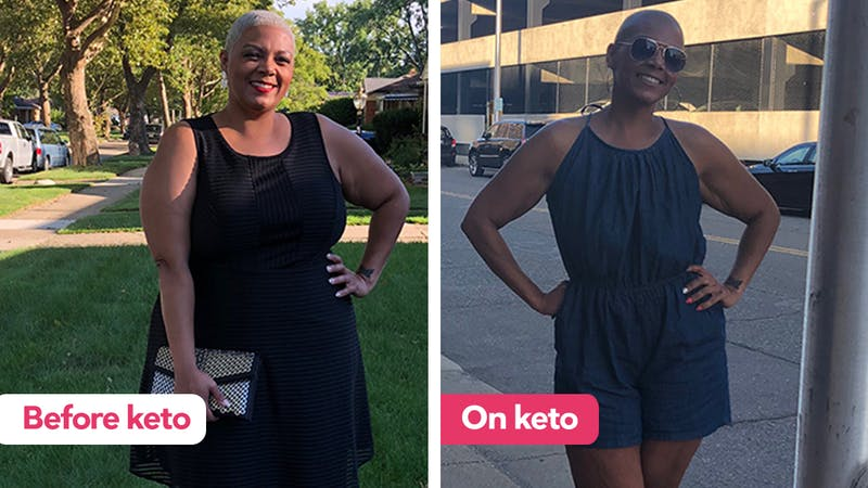Following meal plans has been key to Dani's keto success