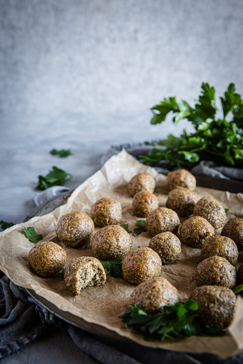 Keto vegan protein balls