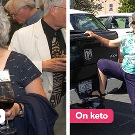 """The keto diet: """"Instantly my energy returned!"""""""