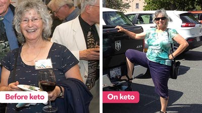 "The keto diet: ""Instantly my energy returned!"""