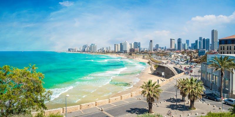 Tel Aviv coast
