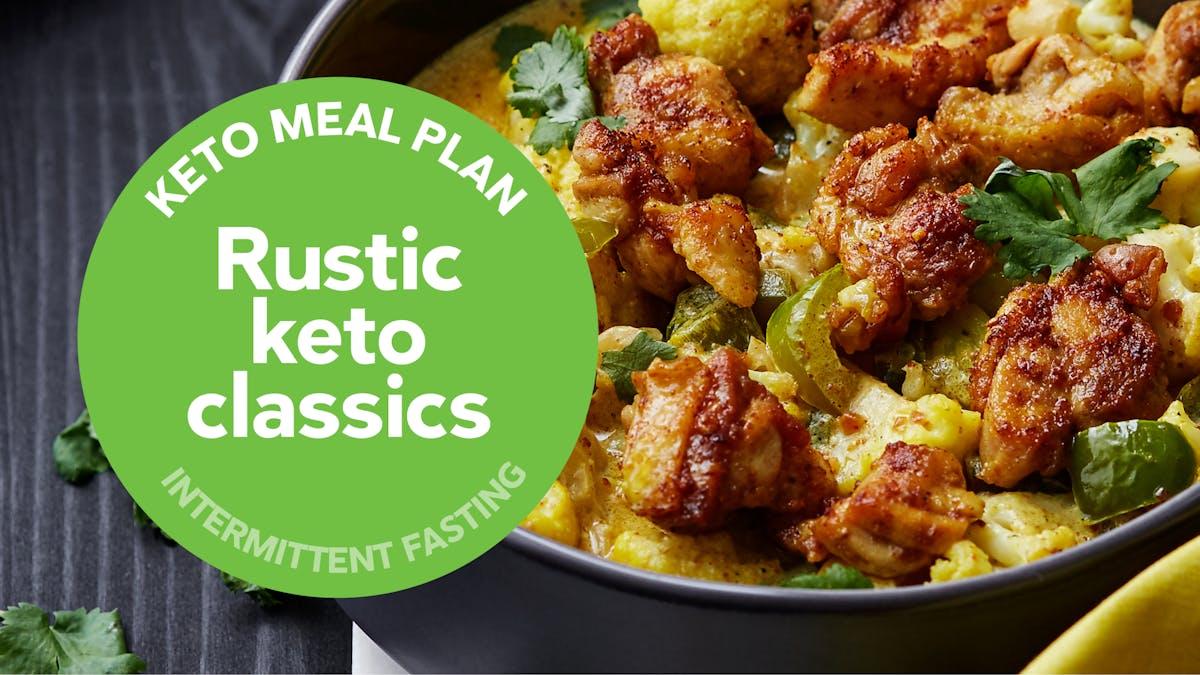 Keto meal plan rustic keto classics