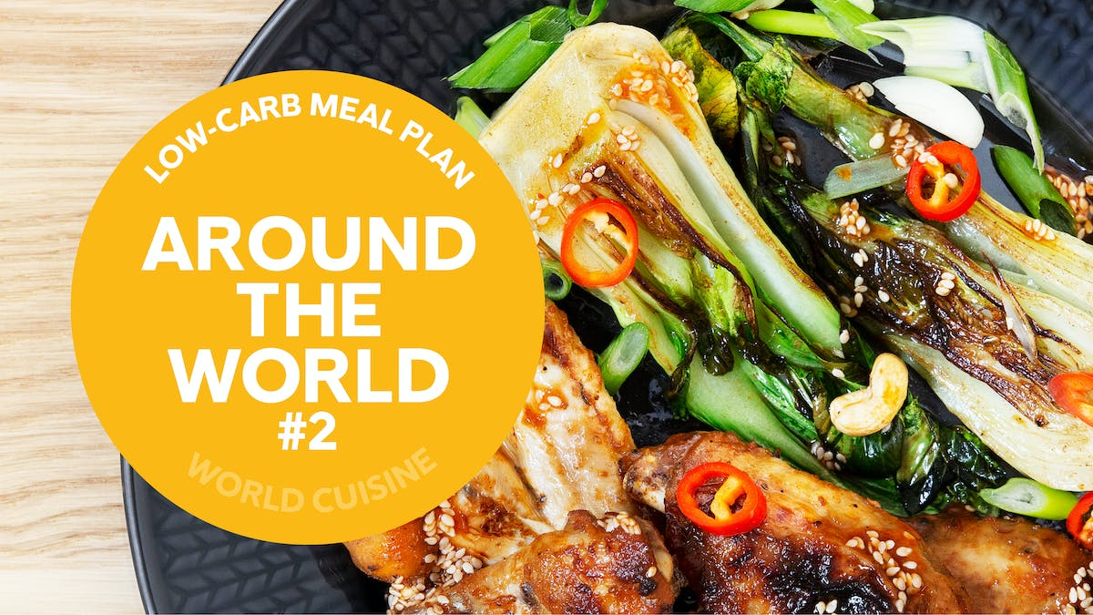 Low-carb meal plan: Around the world #2