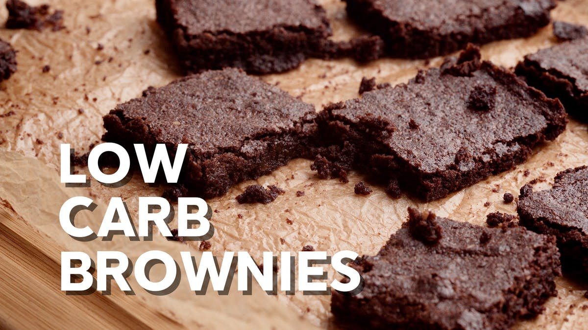 How to cook low-carb brownies
