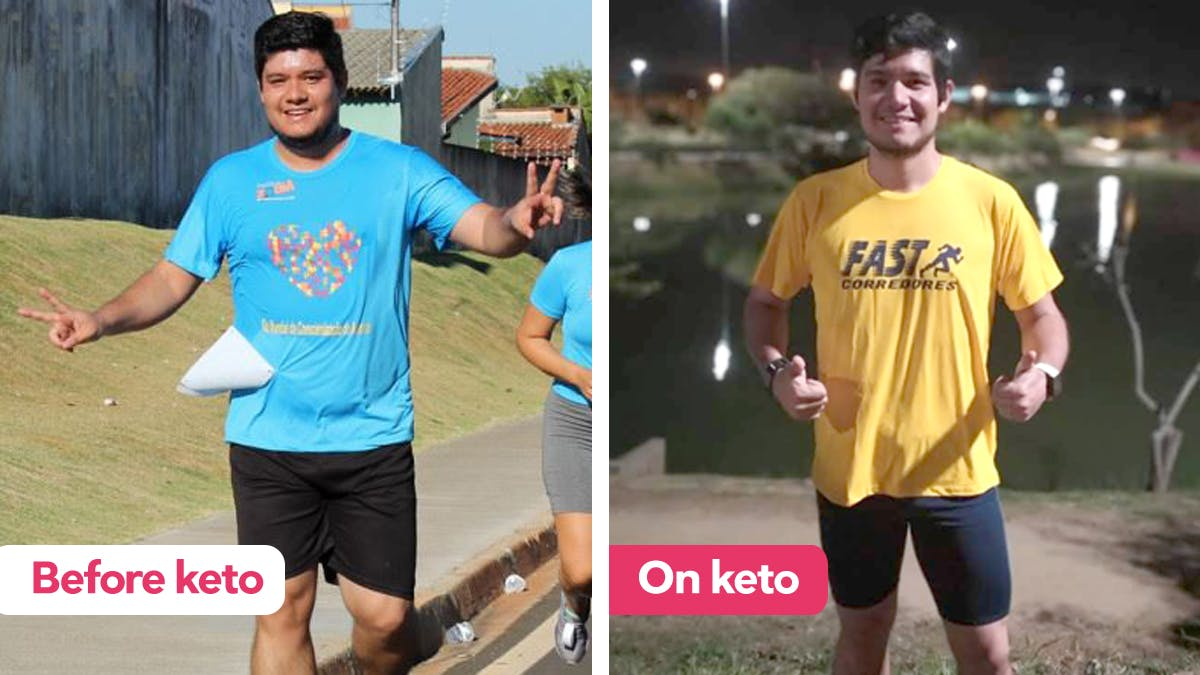 "Keto success story: ""My life has changed for the better"""