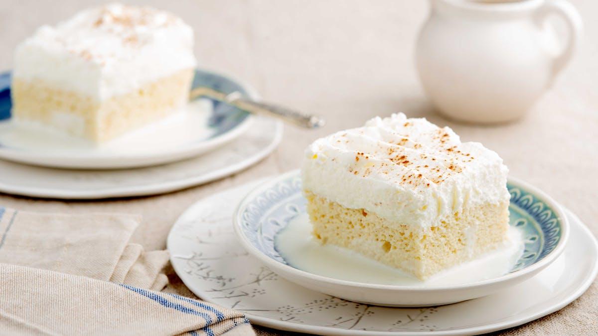 Keto tres leches cake