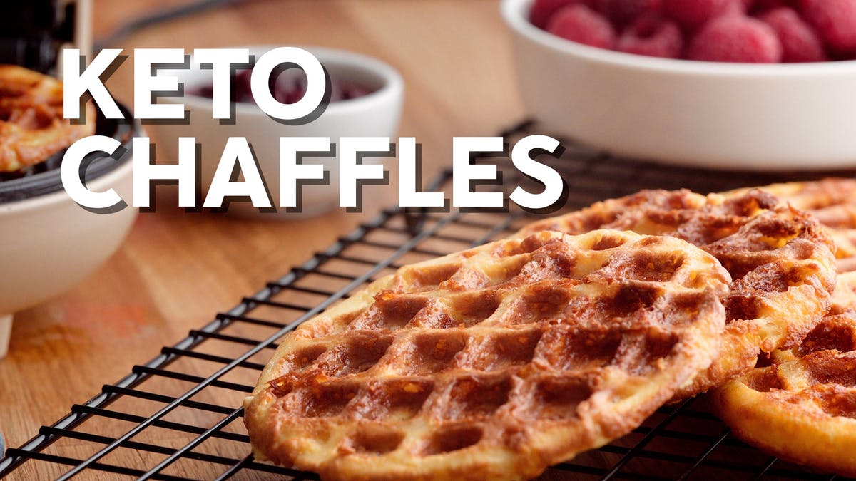 New cooking video: Keto chaffles