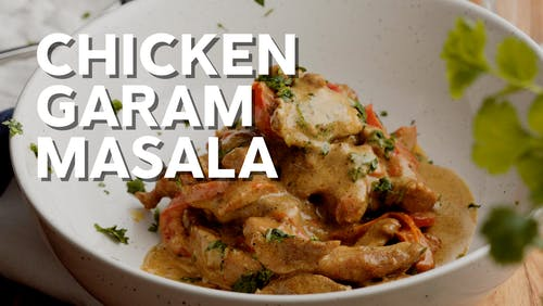 Chicken garam masala