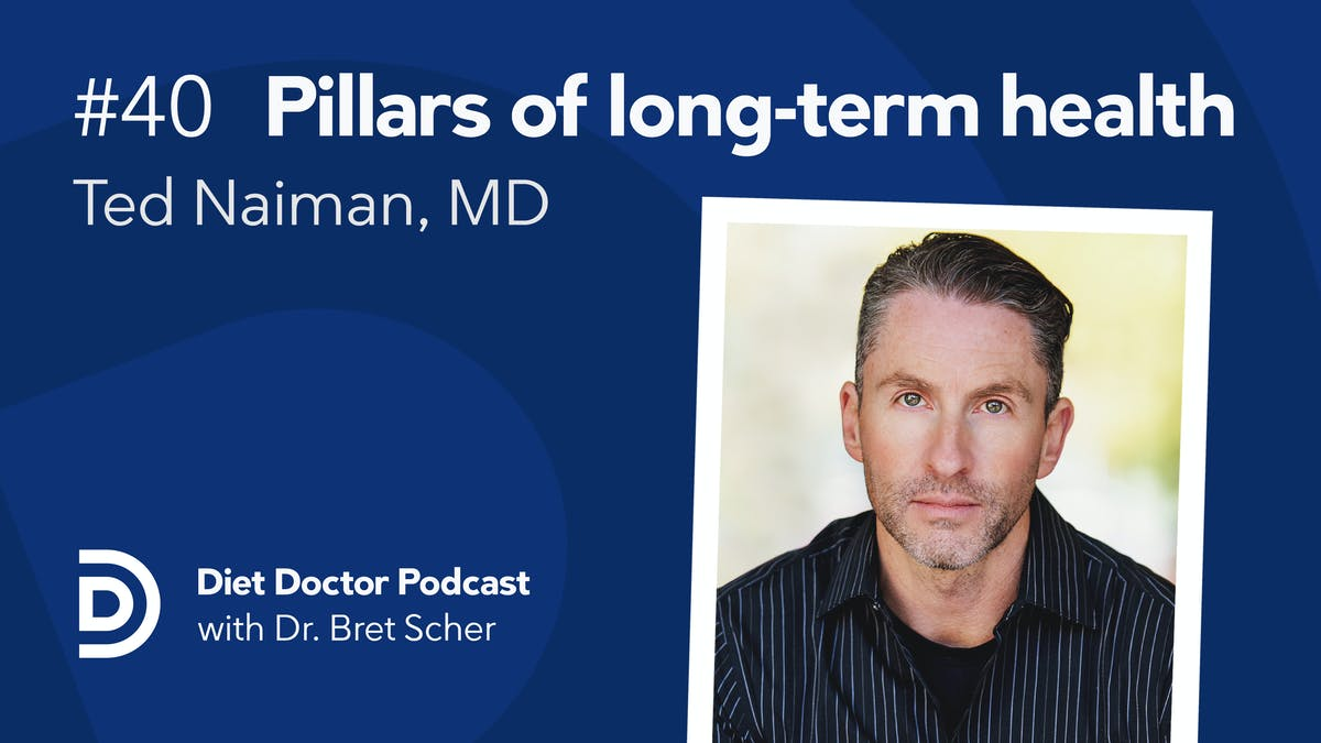 Diet Doctor Podcast #40 with Ted Naiman