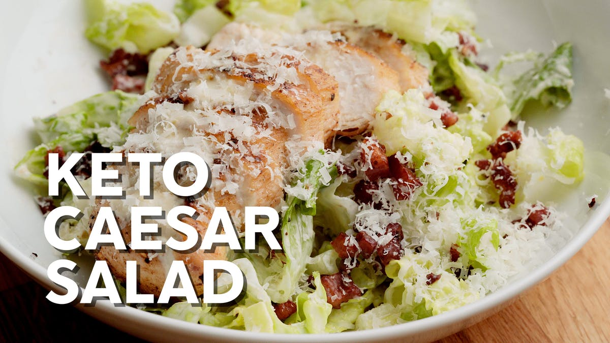 Cooking video: Keto Caesar salad