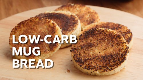 Low-carb mug bread