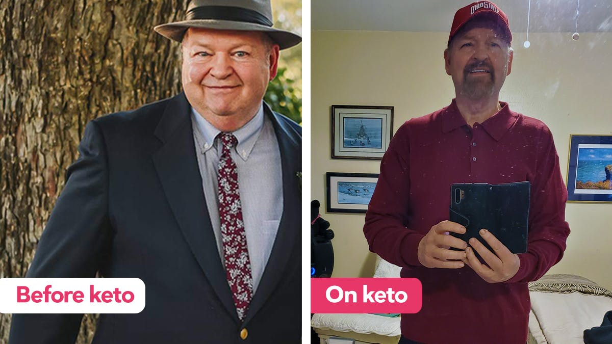 "Keto success story: ""I can tell you it has been a Godsend to me"""
