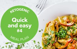 Keto meal plan: Quick and easy #4