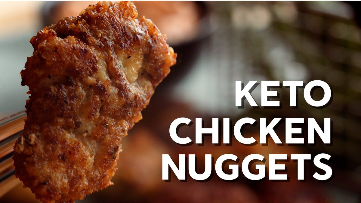 Cooking video: Keto chicken nuggets