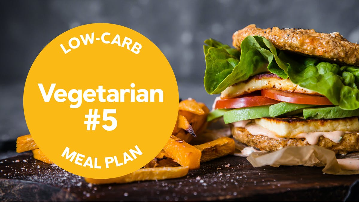 Low-carb meal plan: Vegetarian #5