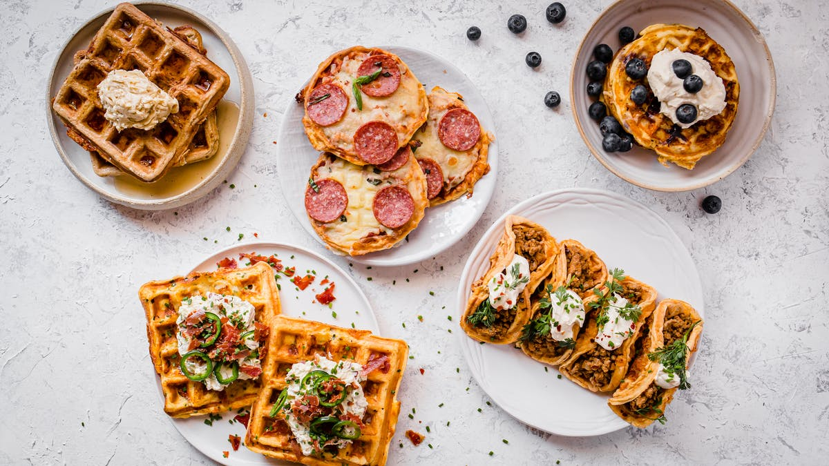 The best low-carb and keto chaffle recipes