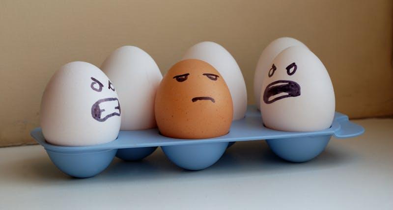 Eggs racism