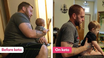 How Ricky turned his life around and lost 210 pounds