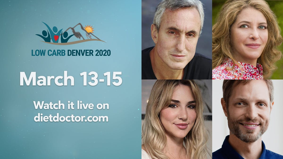 Watch the live stream of Low Carb Denver – sign up for free now