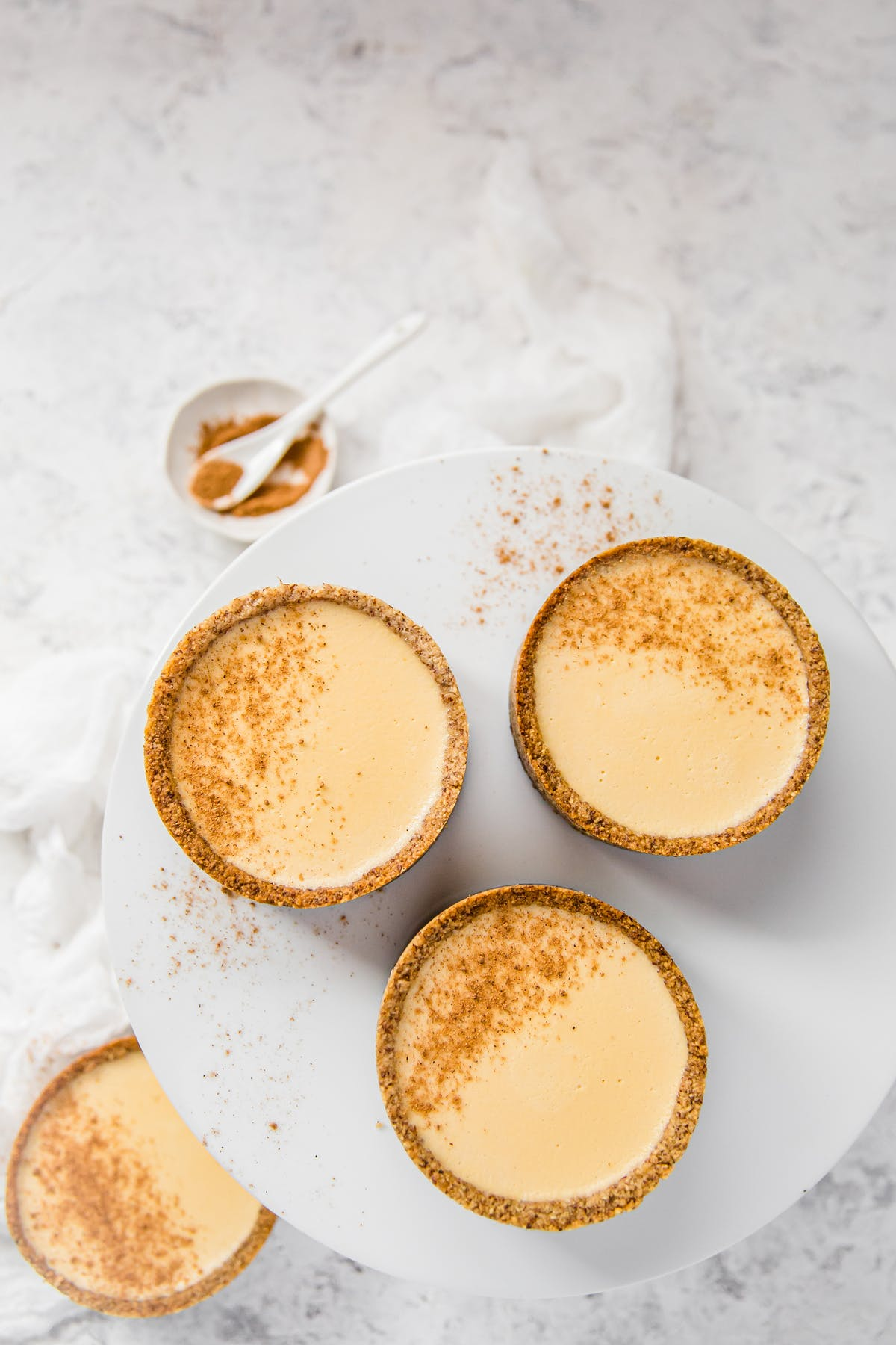 Dairy-free keto egg custard tarts