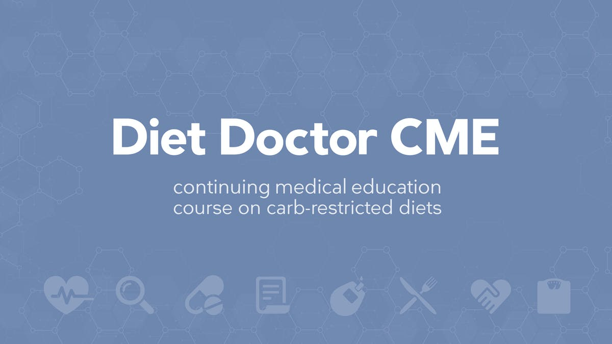 FREE continuing medical education course on low carb