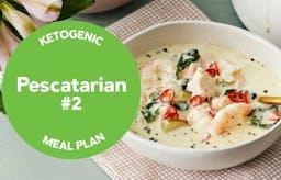 Keto meal plan: Pescatarian #2