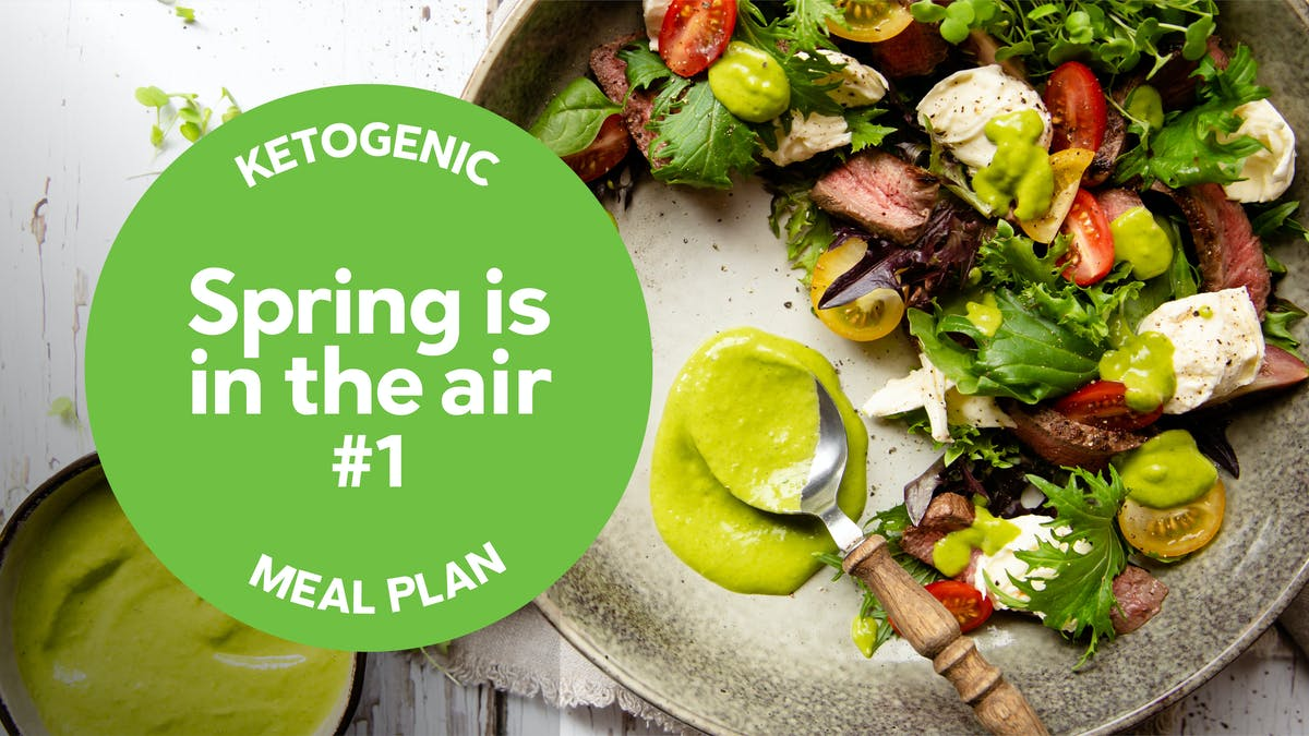 Keto meal plan: Spring is in the air #1