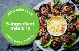 Keto meal plan: 5-ingredient meals #3