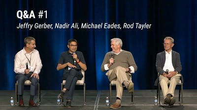 Q&A with Jeffry Gerber, Nadir Ali, Michael Eades and Rod Tayler (LCD 2020)